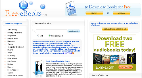 Top Websites To Download Free E-books