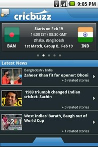 Andriod App To See Cricket Updates
