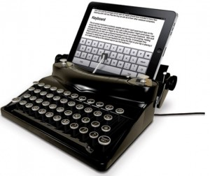 iTypewriter - Vintage Keyboard for your iPad