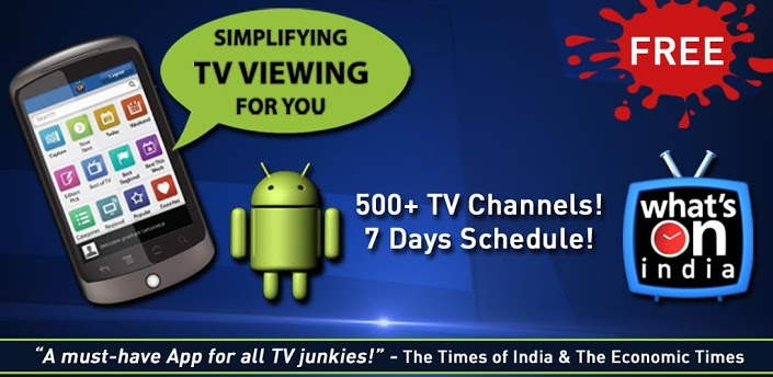 Top TV Apps For India (Android OS)