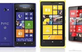 Windows Phone 8 Devices Comparison