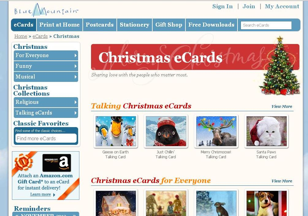 5 Websites to Send Quality Christmas Greetings Online