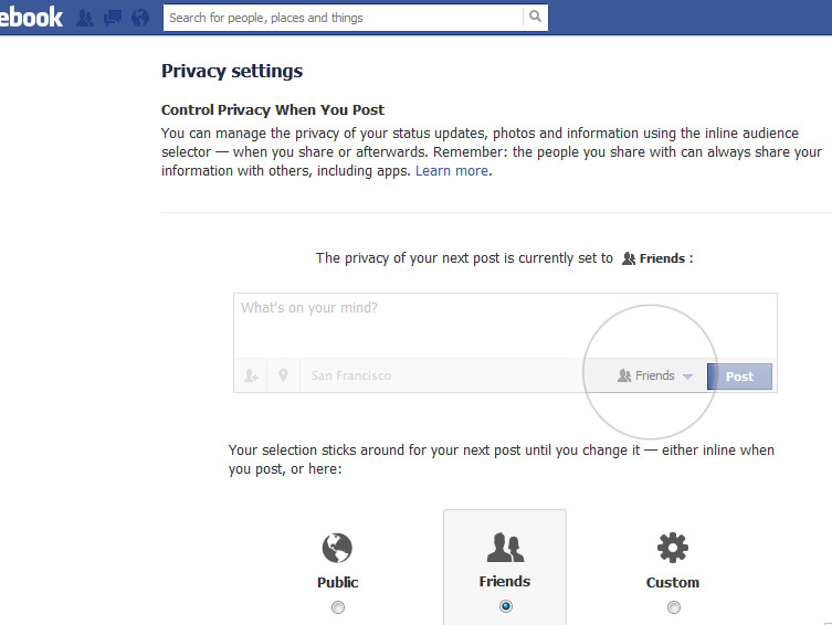 Quick Steps to Protect your Privacy on Facebook