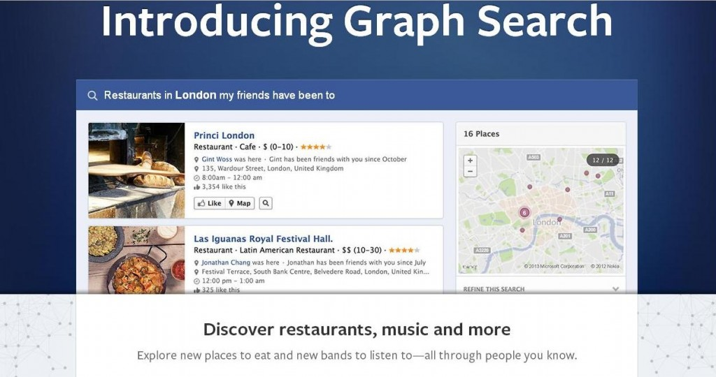 Facebook Graph Search Beta Launches