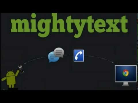 Send SMS Texts From Your Computer with MightyText