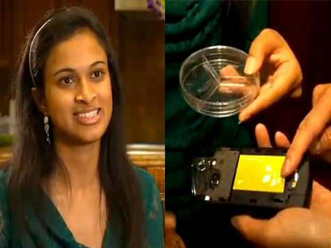indian girl invents a device that can charge in 20 seconds any device