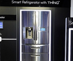 smart refrigerator with thinq